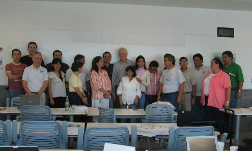2006 Workshop Participants - Tec de Monterrey, Mexico